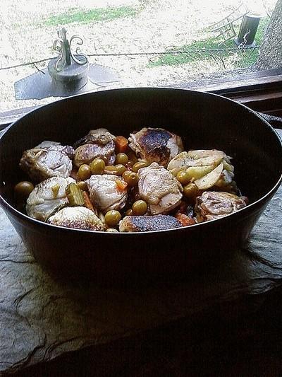 recette - tagine de poulet à ma façon !