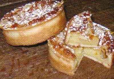 recette - tarte amandine à la crème de calissons