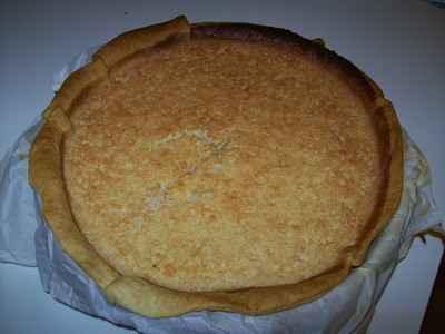 recette - tarte au coco