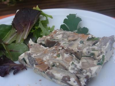 recette - terrine aux champignons