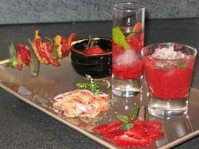 recette - triple fraise