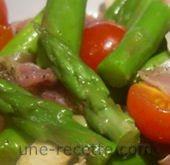 recettes asperges-en-salade
