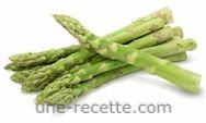 recettes asperges