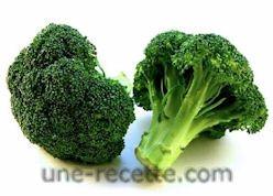 recettes brocolis