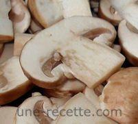 recettes champignons