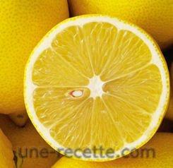 recettes citrons