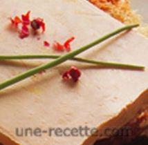 recettes foie-gras