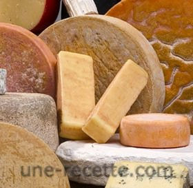 recettes fromage-sucre