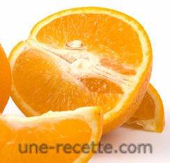 recettes oranges