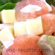 recettes pamplemousse-en-salade