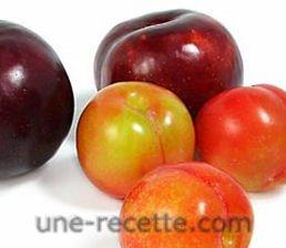 recettes prune