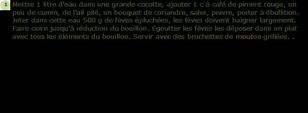 Recette f ves fra ches facile et rapide - Cuisiner feves fraiches ...