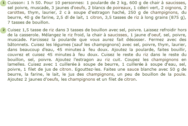 Recette poularde farcie facile et rapide - Cuisiner du marcassin ...