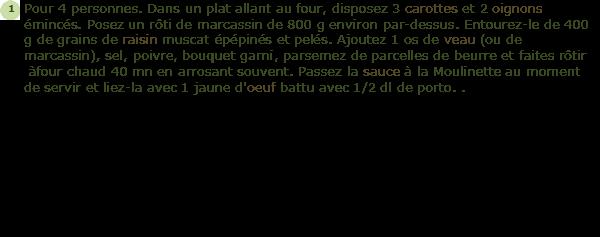 Recette r ti de marcassin au porto facile et rapide - Cuisiner du marcassin ...