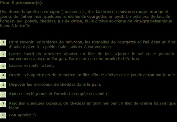 Recette sandwich printanier facile et rapide - Cuisiner du marcassin ...
